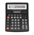 Electronic calculator vector