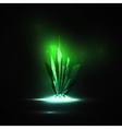 Abstract magic crystal vector