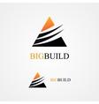 Triangle design logo vector