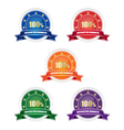 Satisfaction guarantee badges vector