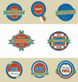 Labels icon vector
