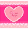 Heart shape design background vector