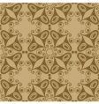 Retro ornamental tile butterfly vector