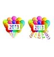 Balloons 2013 vector