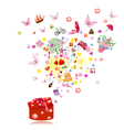 Birthday gifts vector