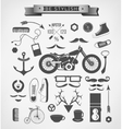 Hipster style elements icon and object can be used vector