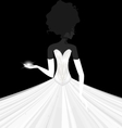 Abstract bride vector