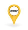 Location moscow vector