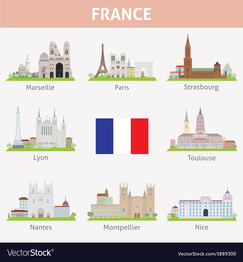 France vector | Price: 1 Credit (USD $1)