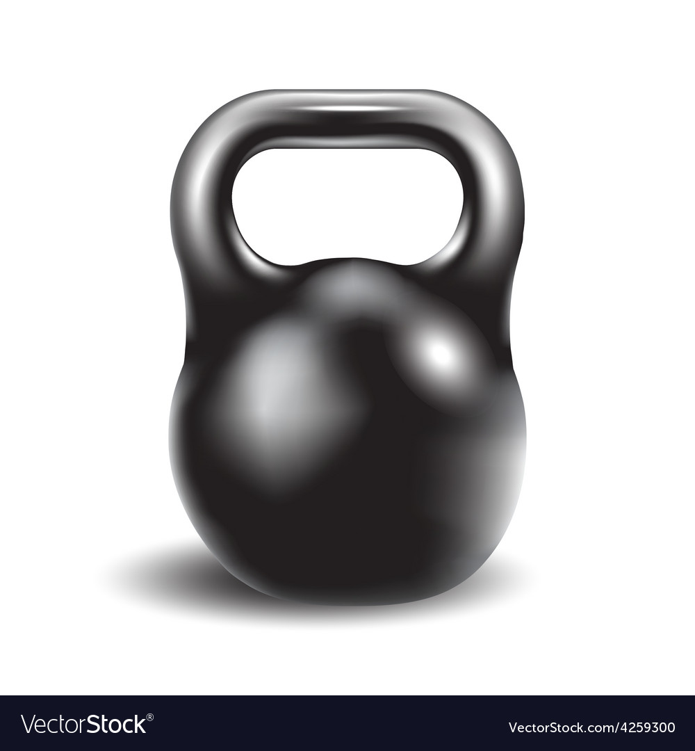 Iron weight for athletic exerciseseps 10 vector | Price: 1 Credit (USD $1)