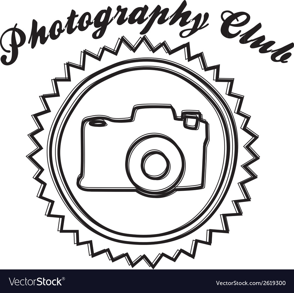 Photography club design vector | Price: 1 Credit (USD $1)