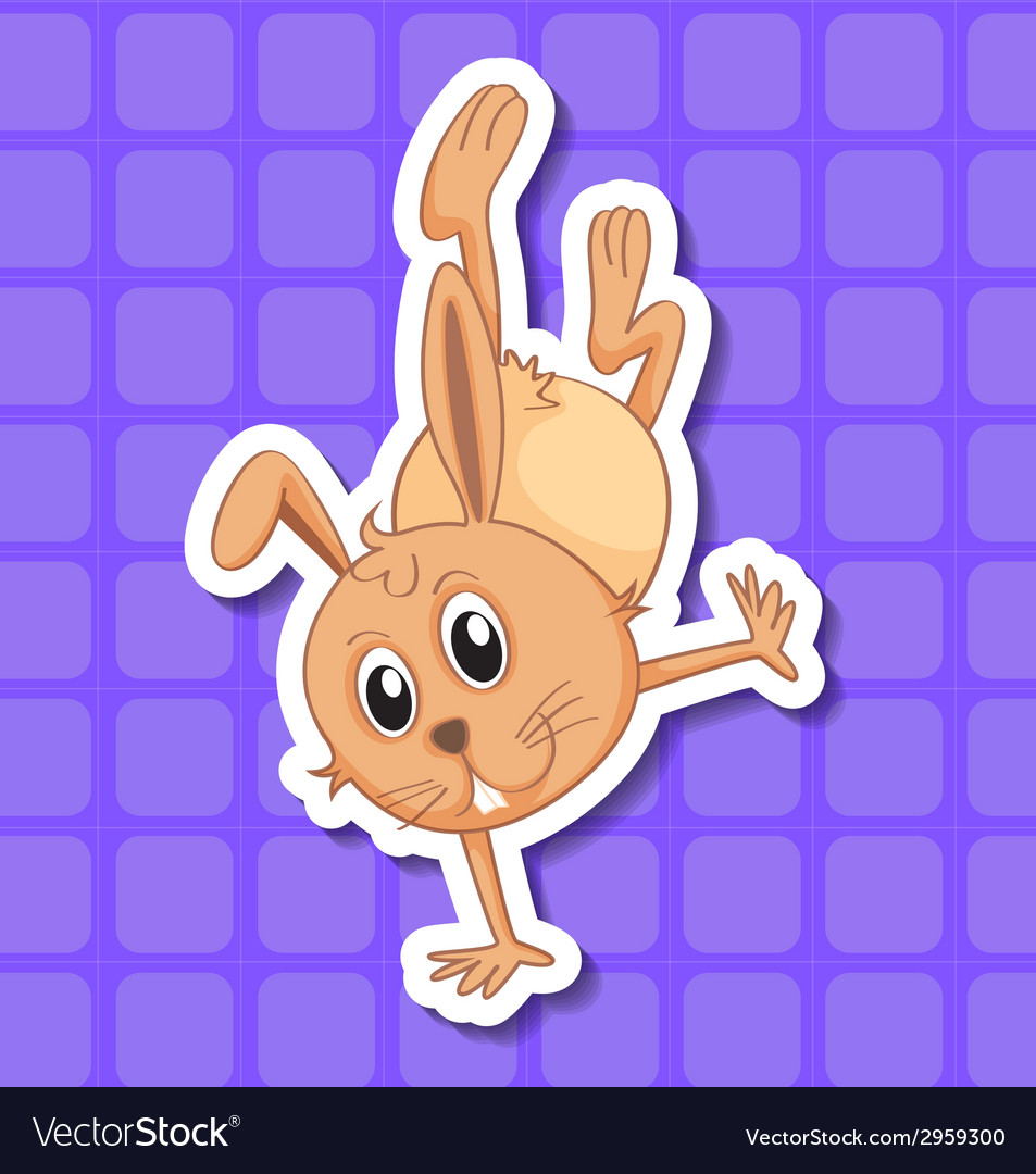 Rabbit vector | Price: 1 Credit (USD $1)