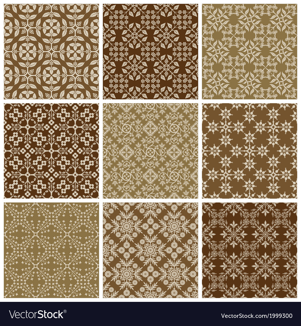 Seamless print patterns vector | Price: 1 Credit (USD $1)