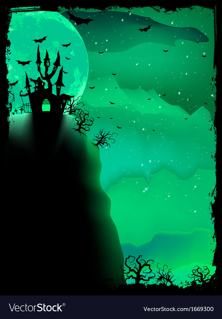 Spooky halloween composition eps 10 vector | Price: 1 Credit (USD $1)