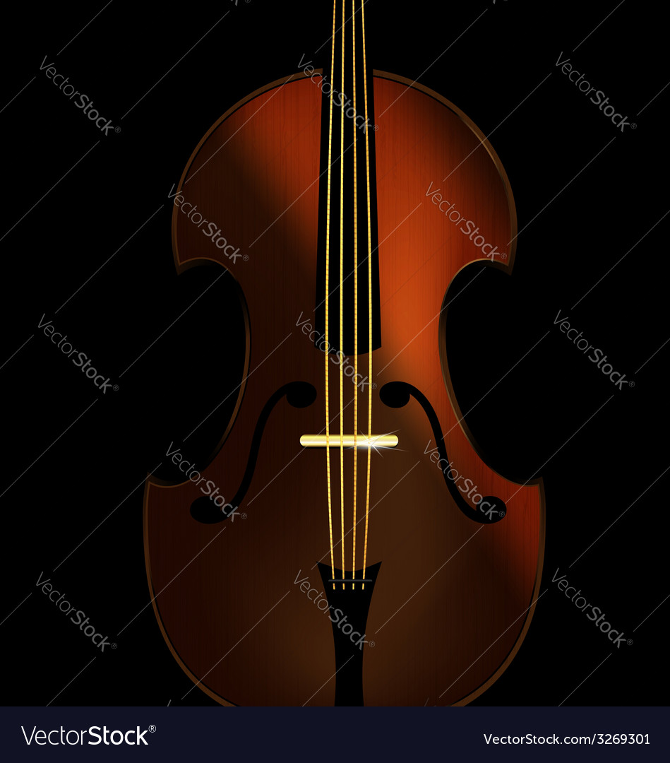 Abstract fiddle vector | Price: 1 Credit (USD $1)