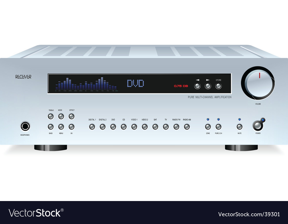 Hi-fi amplifier vector | Price: 3 Credit (USD $3)