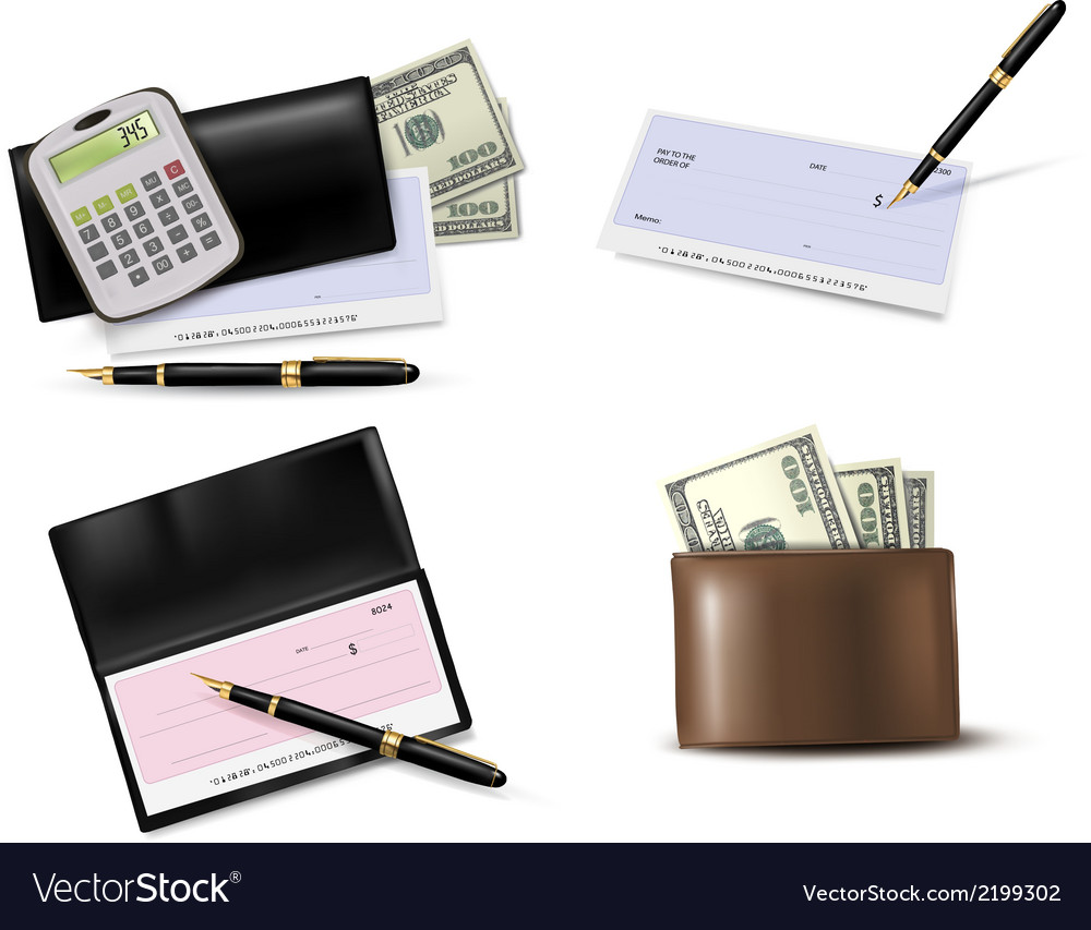 Big collection of business supplies vector | Price: 1 Credit (USD $1)