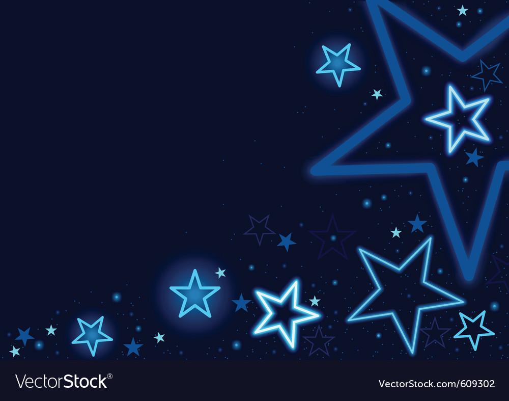 Blue stars vector | Price: 1 Credit (USD $1)