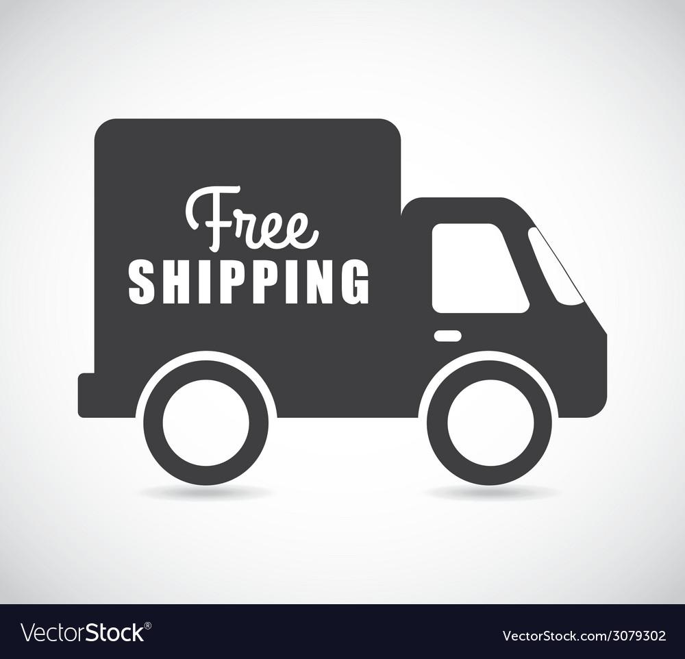 Free delivery design vector | Price: 1 Credit (USD $1)