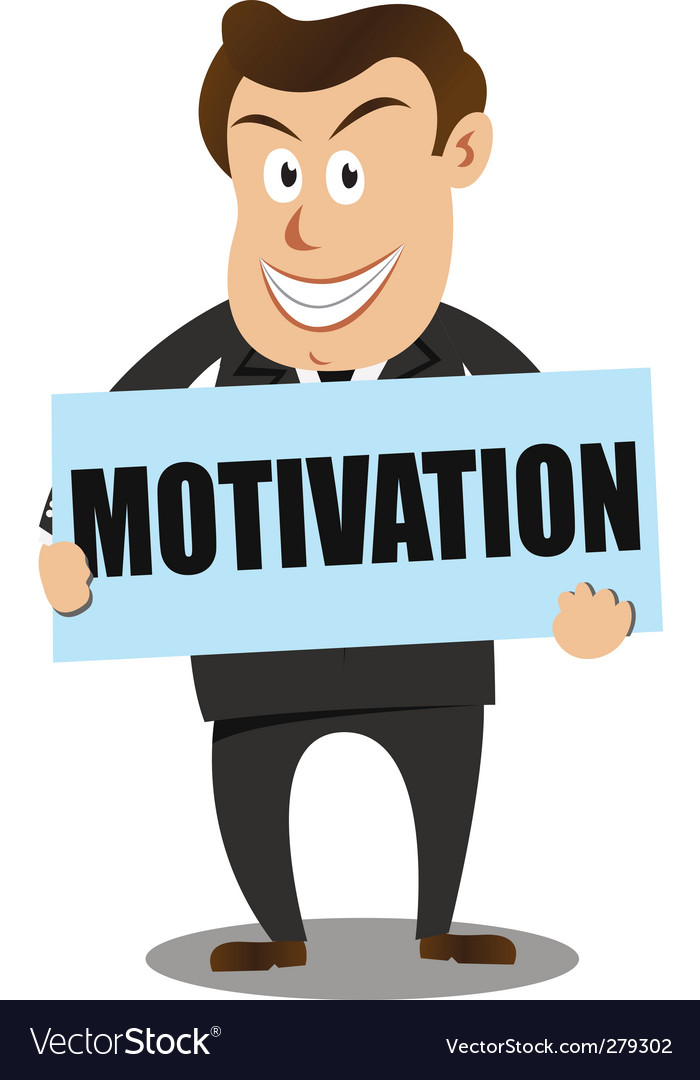 Motivation businessman vector | Price: 1 Credit (USD $1)