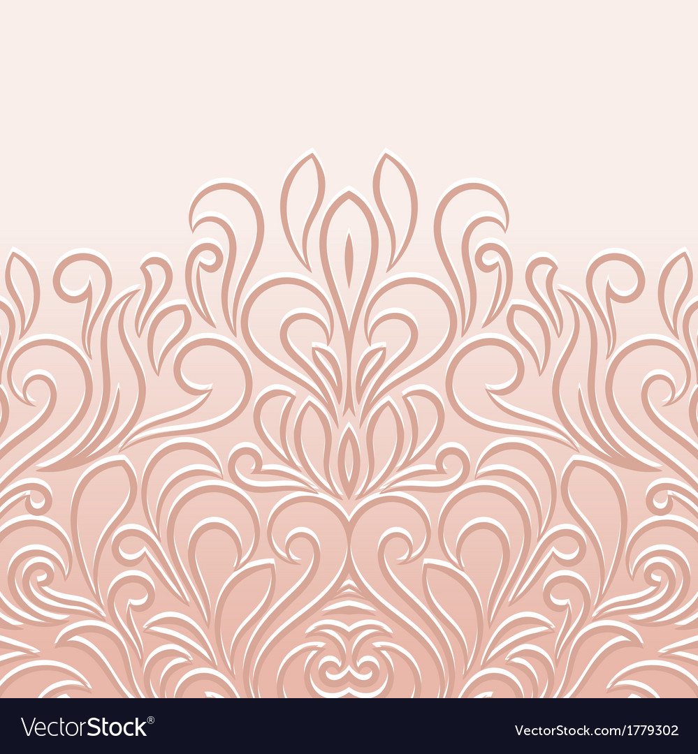 Ornamental floral background vector | Price: 1 Credit (USD $1)