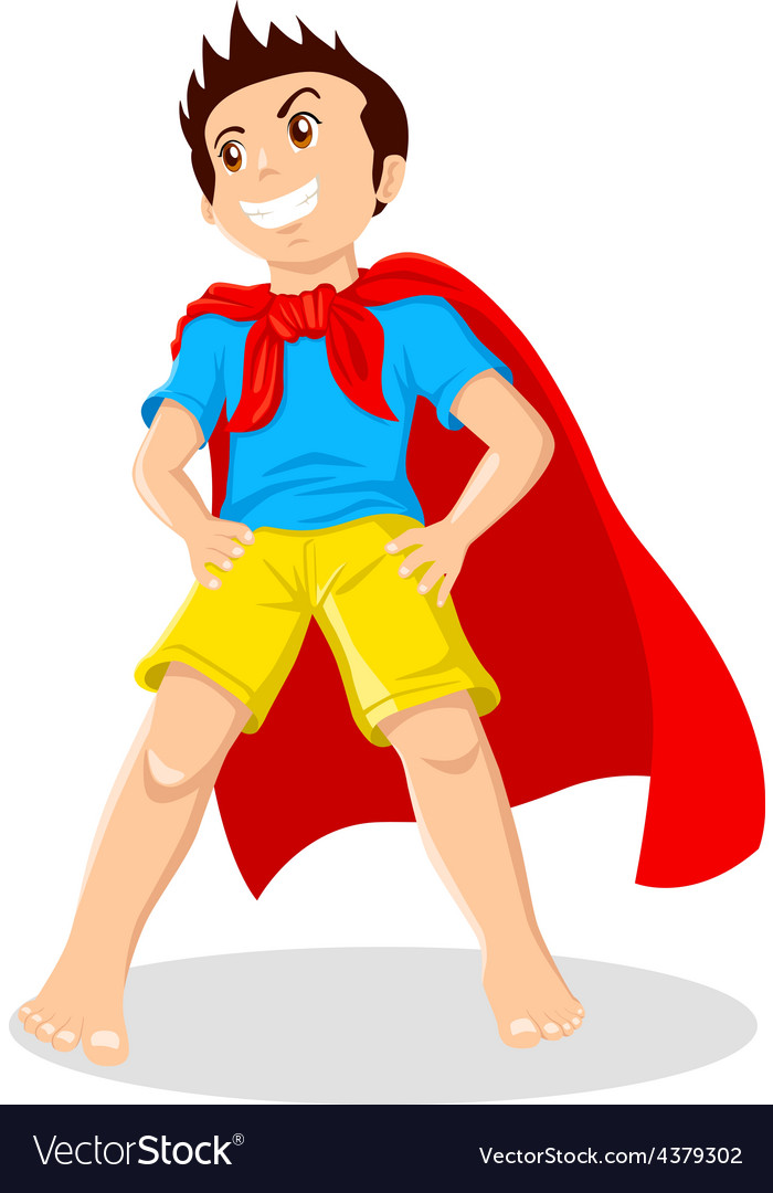 Superhero vector | Price: 1 Credit (USD $1)