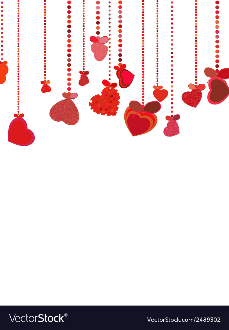 Valentines day background eps 8 vector | Price: 1 Credit (USD $1)