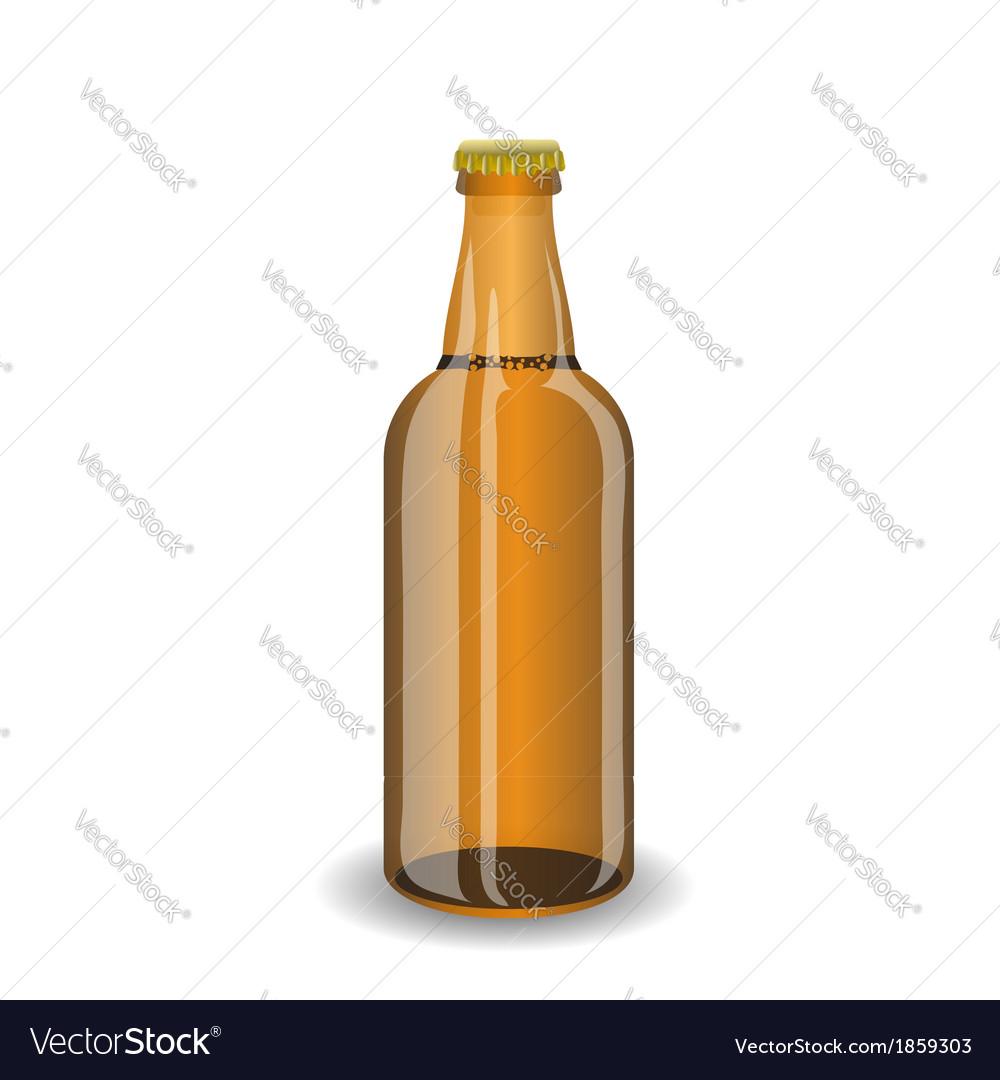 Bottle of beer vector | Price: 1 Credit (USD $1)