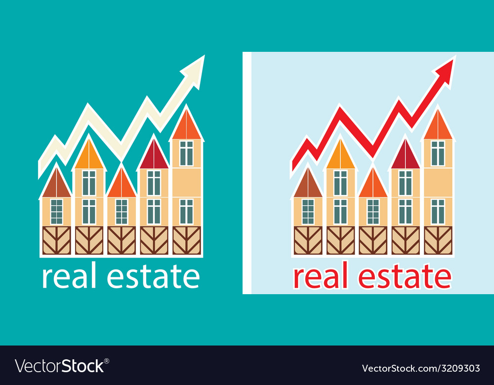 Prices for real estate vector | Price: 1 Credit (USD $1)