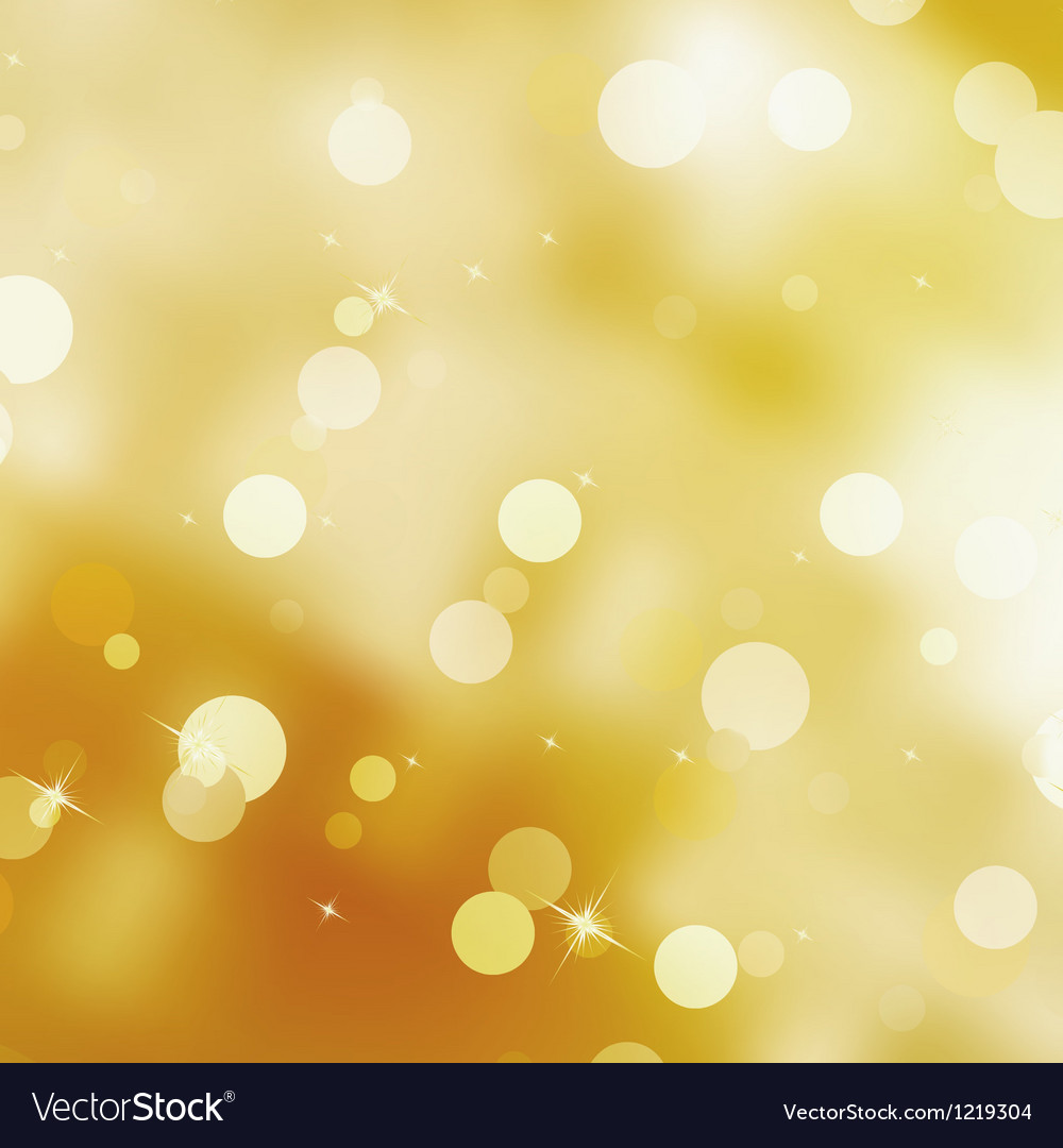 Abstract bokeh lights stars vector | Price: 1 Credit (USD $1)