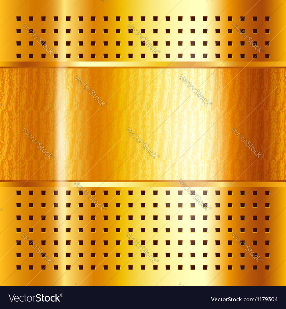 Gold template metallic background 10eps vector   Price: 1 Credit (USD $1)