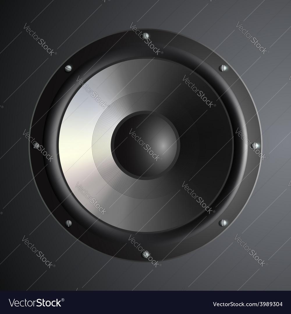 Musical speaker vector   Price: 1 Credit (USD $1)
