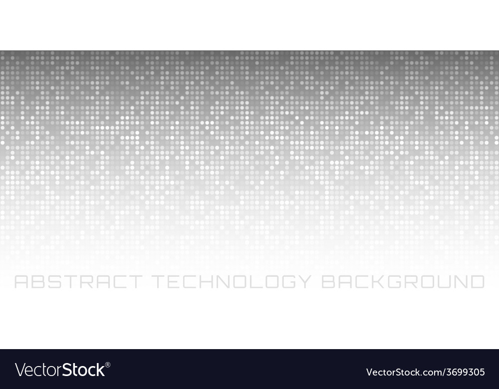 Abstract gray technology horizontal background vector | Price: 1 Credit (USD $1)