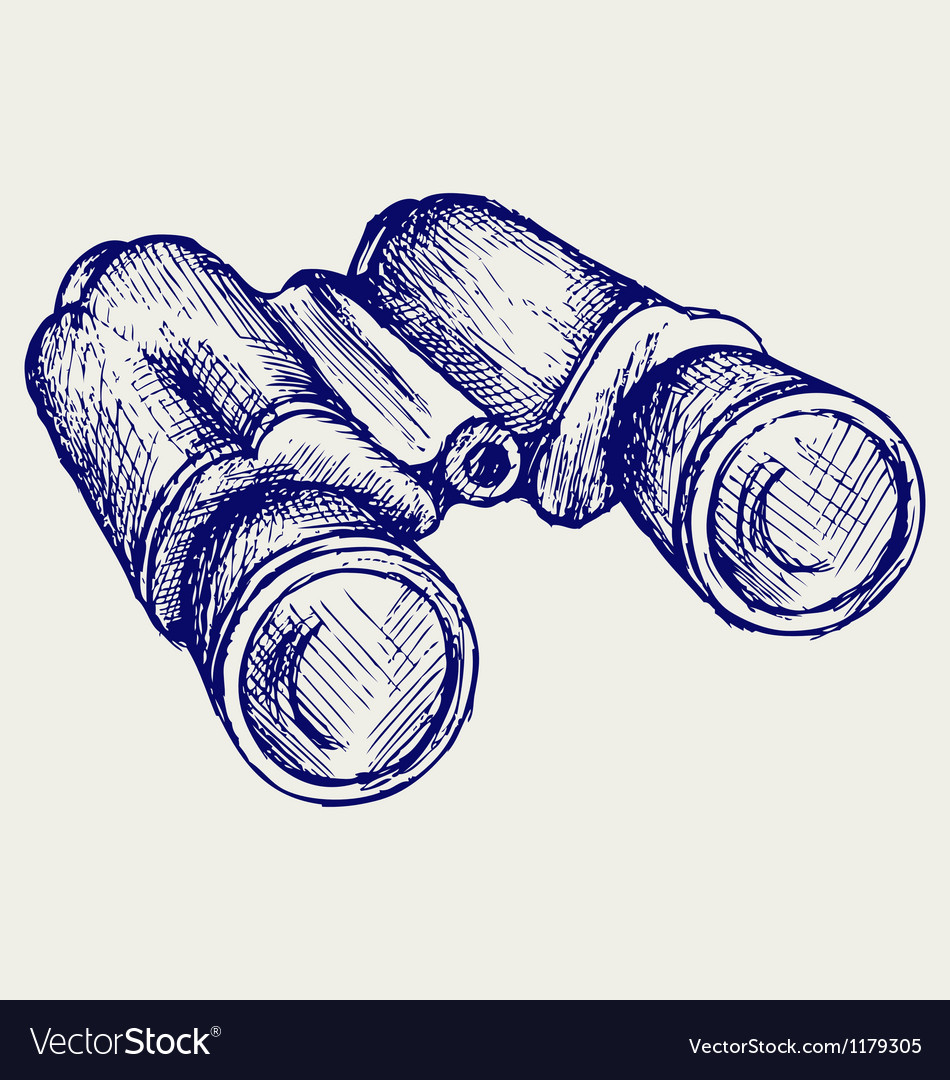 Binoculars icon vector | Price: 1 Credit (USD $1)