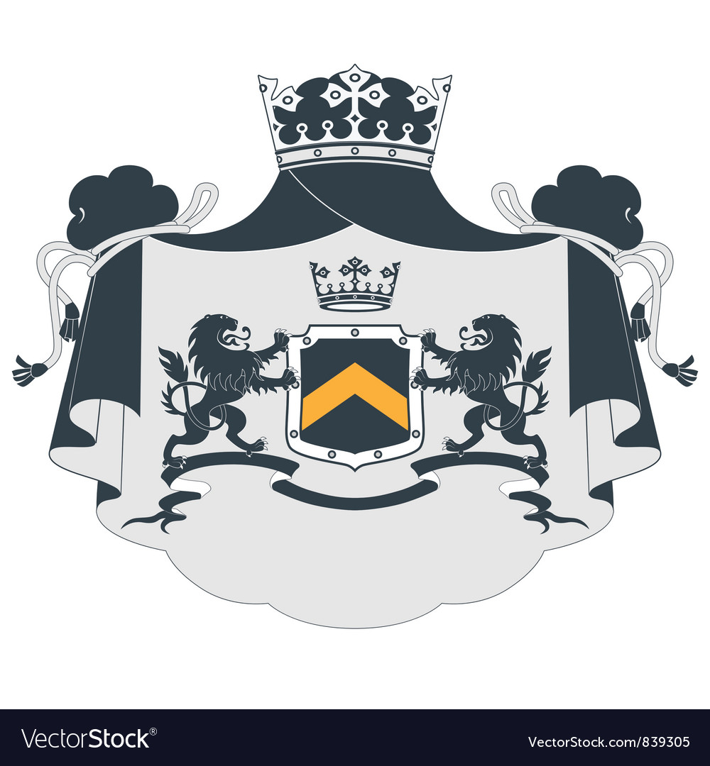 Coat of arms2 vector | Price: 1 Credit (USD $1)