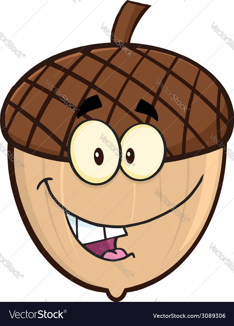 Cartoon acorn vector | Price: 1 Credit (USD $1)