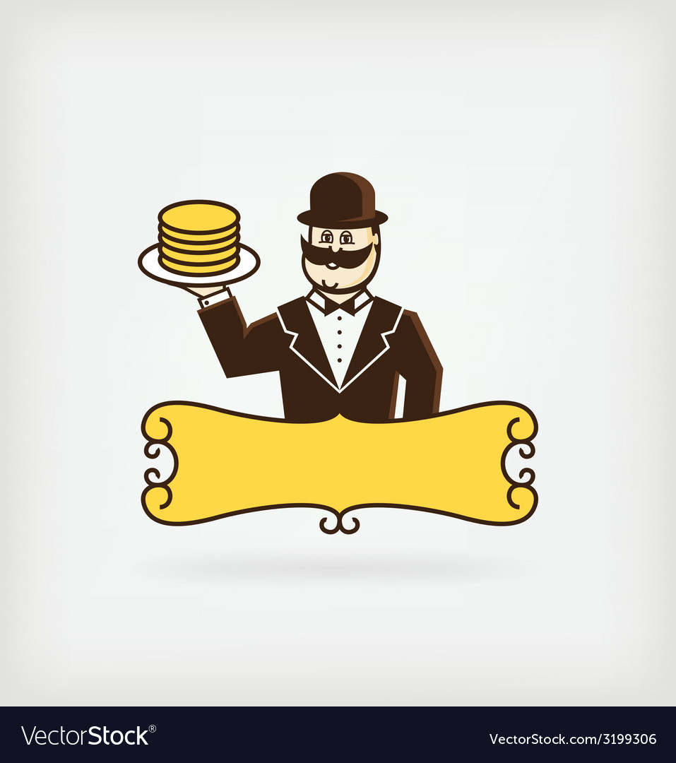 Mr pancake vector   Price: 1 Credit (USD $1)