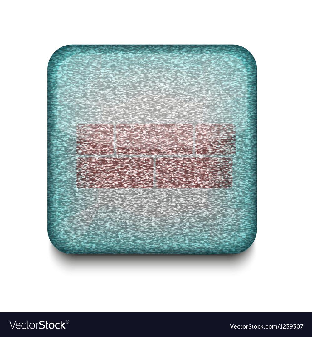 Brick wall icon vector | Price: 1 Credit (USD $1)