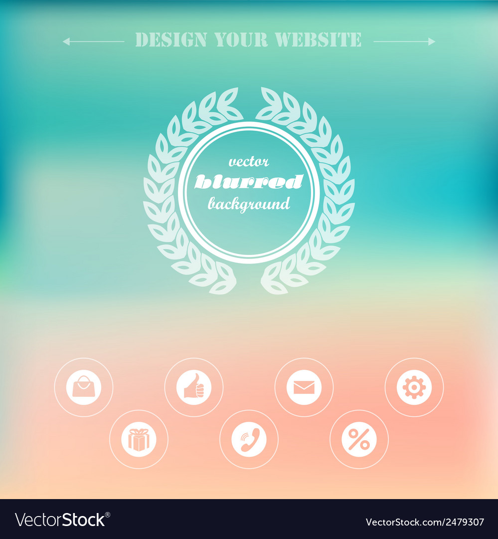 Homepage vector | Price: 1 Credit (USD $1)