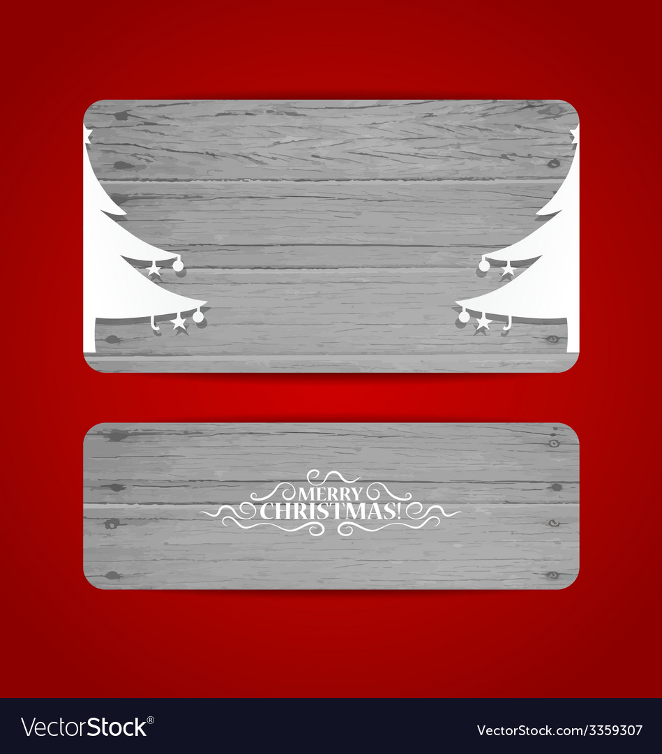 Merry christmas gift card design vector   Price: 1 Credit (USD $1)