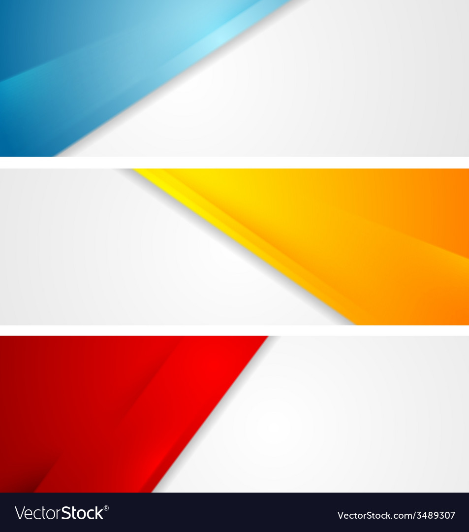 Shiny tech corporate banners vector   Price: 1 Credit (USD $1)