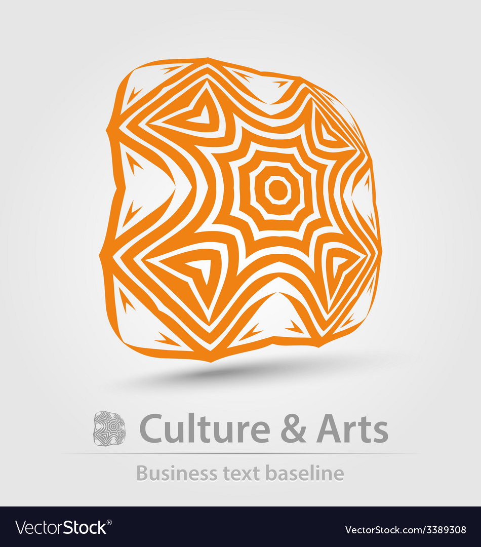 Culture and art business icon vector | Price: 1 Credit (USD $1)
