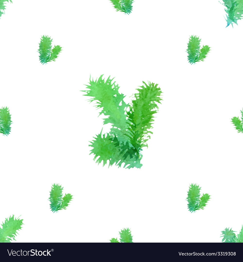 Seamless christmas tree pattern vector | Price: 1 Credit (USD $1)
