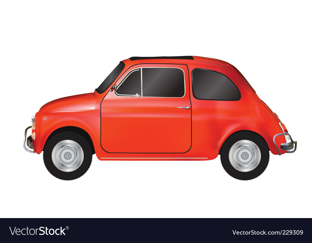 Mini car vector | Price: 3 Credit (USD $3)