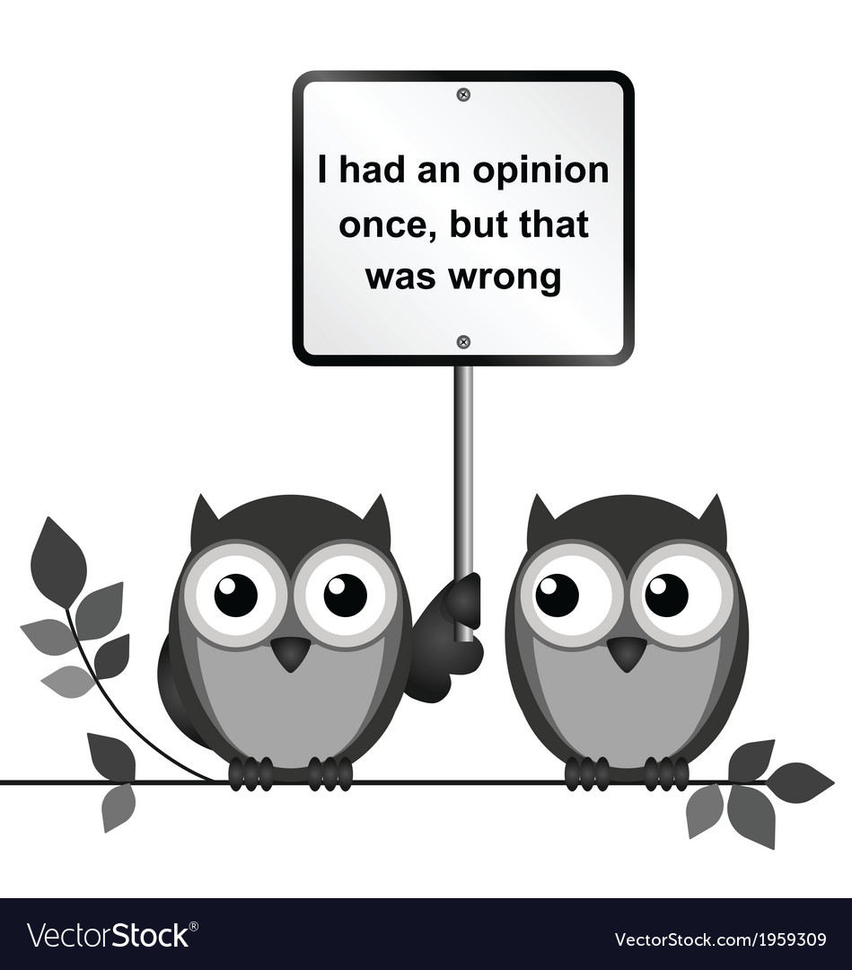Opinion vector | Price: 1 Credit (USD $1)