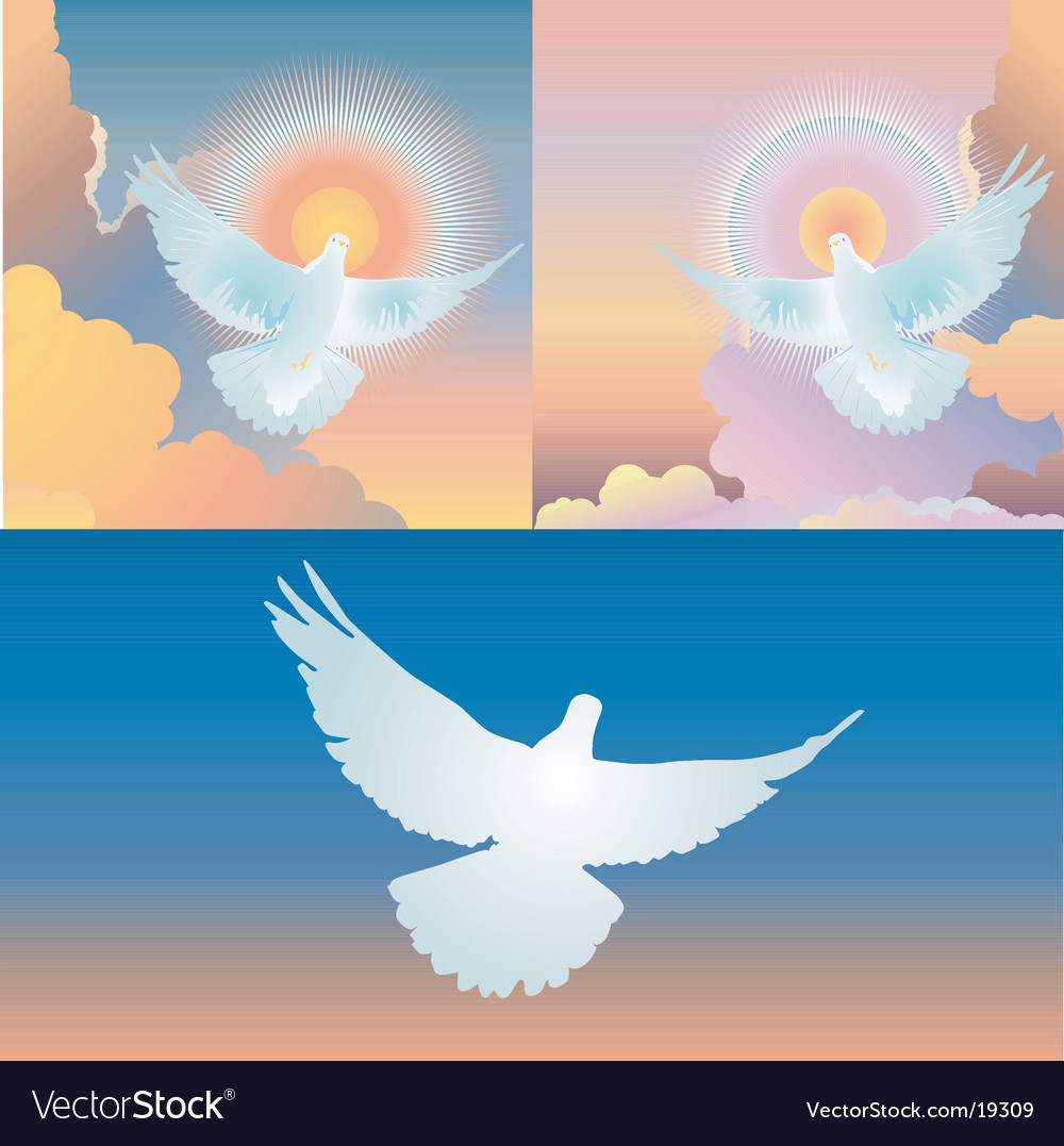 Spirit in flight vector | Price: 1 Credit (USD $1)
