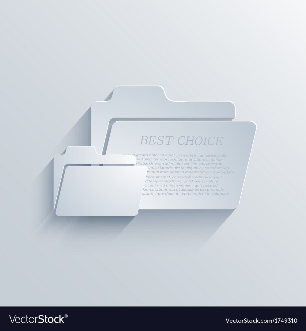 Folder background eps10 vector | Price: 1 Credit (USD $1)