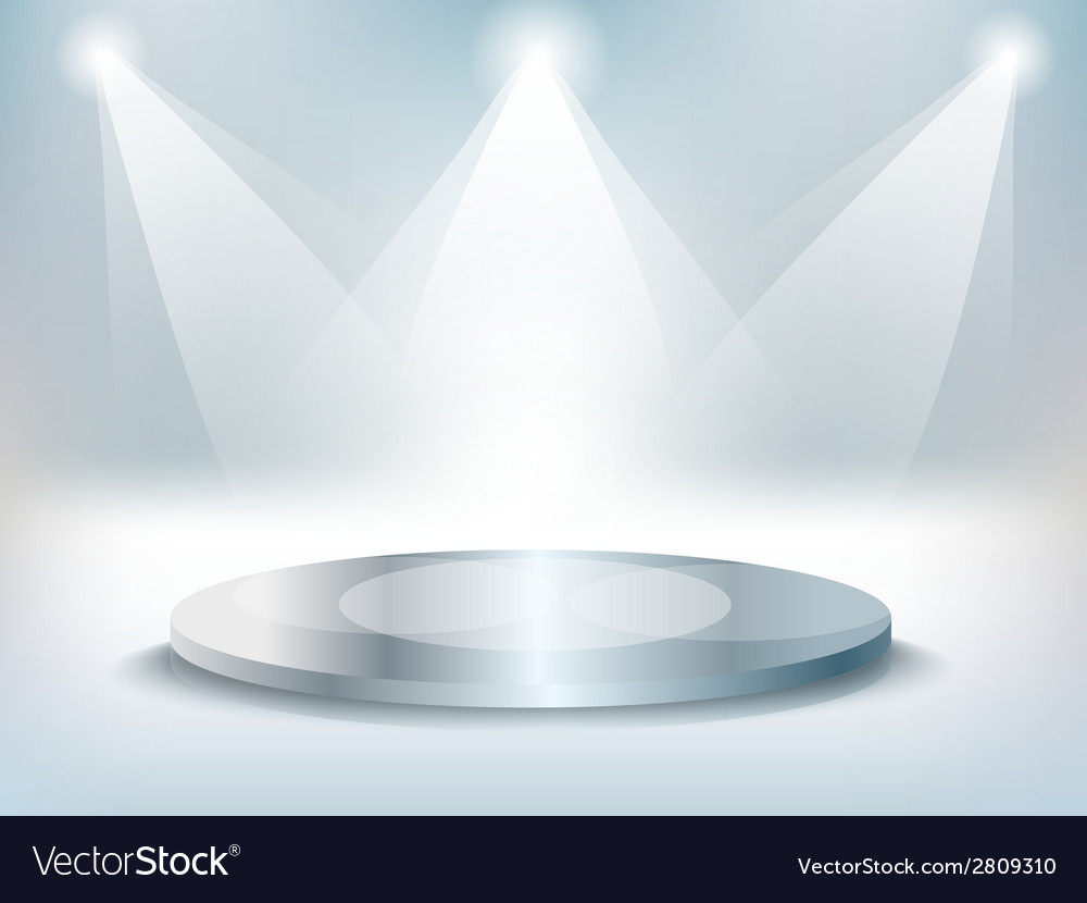 Stage background vector | Price: 1 Credit (USD $1)