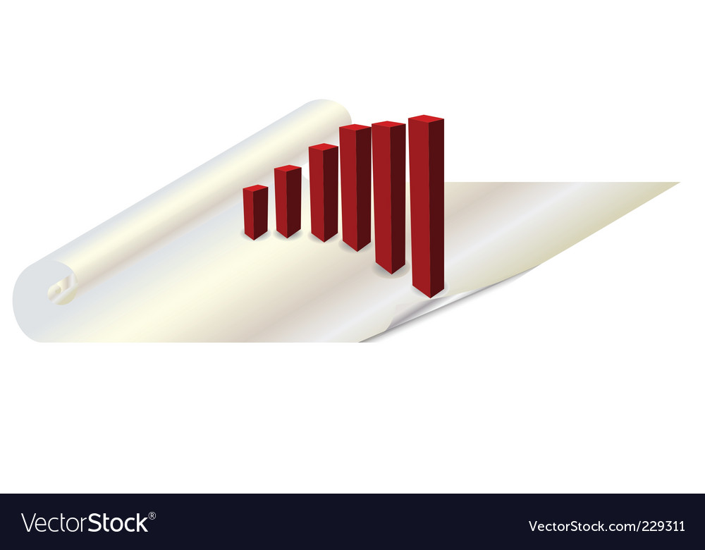 Bar chart vector | Price: 1 Credit (USD $1)