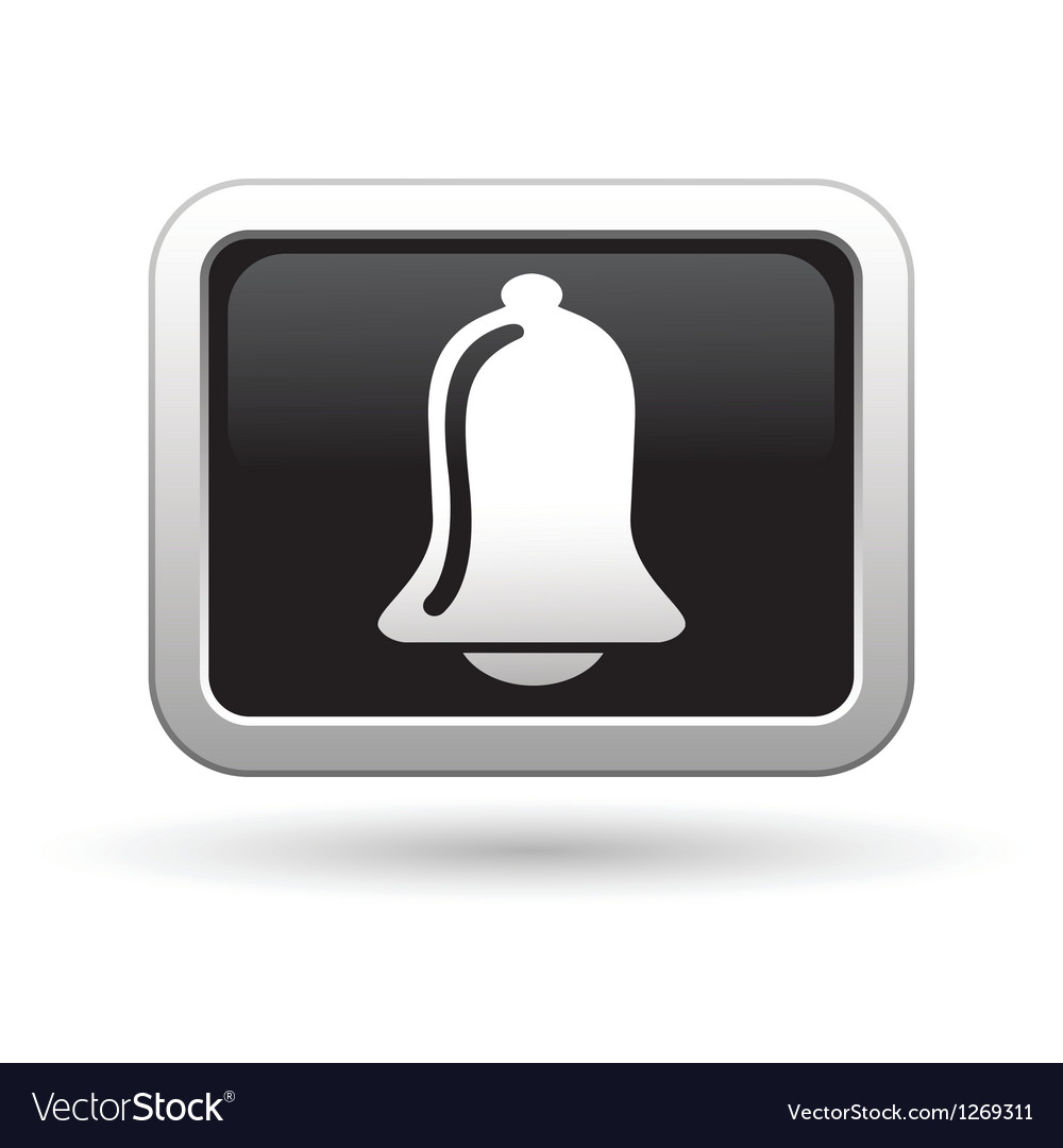 Ringing bell icon vector | Price: 1 Credit (USD $1)